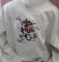 Happy Harlequin Dane Sweatshirt